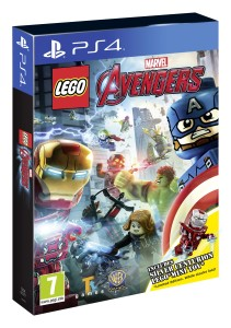 LEGO Marvel Avengers PS4 Box Art