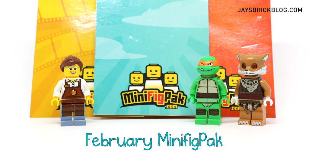 February MiniFigPak Review