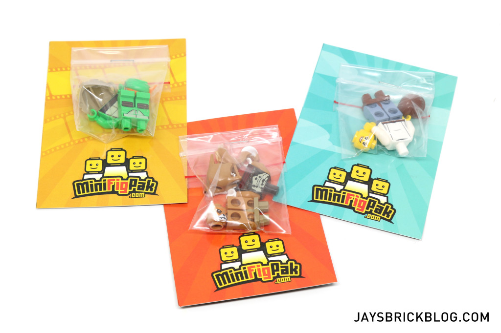 LEGO Minifigpak February Review - Contents