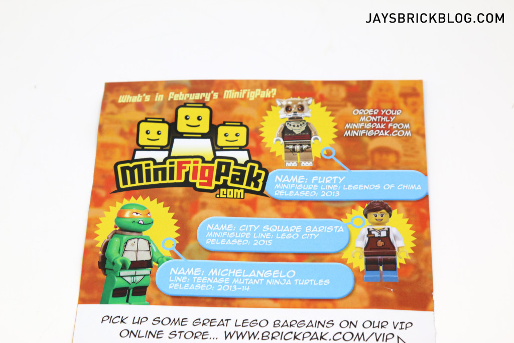 LEGO Minifigpak February Review - Leaflet