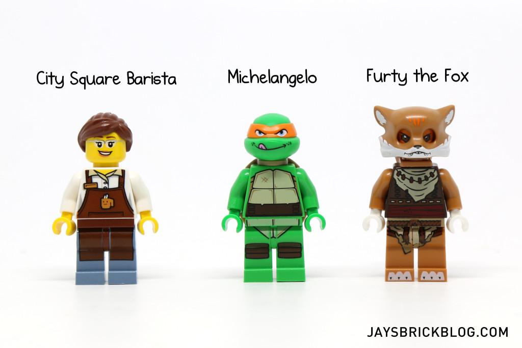 LEGO Minifigpak February Review Minifigures