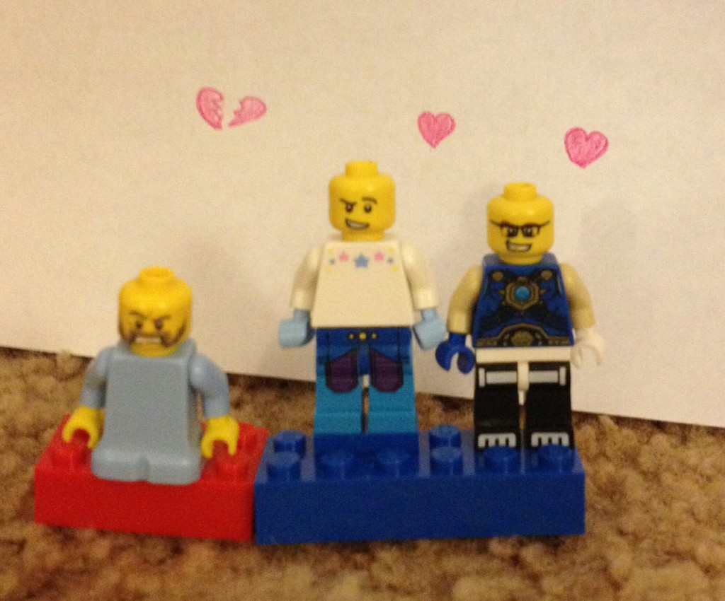 LEGO Valentines Day 2016 - Aiden M