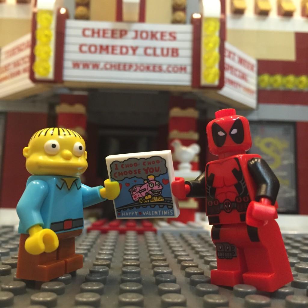 LEGO Valentines Day 2016 - Andrew M Cheepjokes