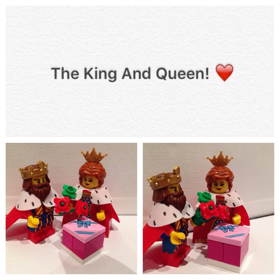 LEGO Valentines Day 2016 - Georgie A