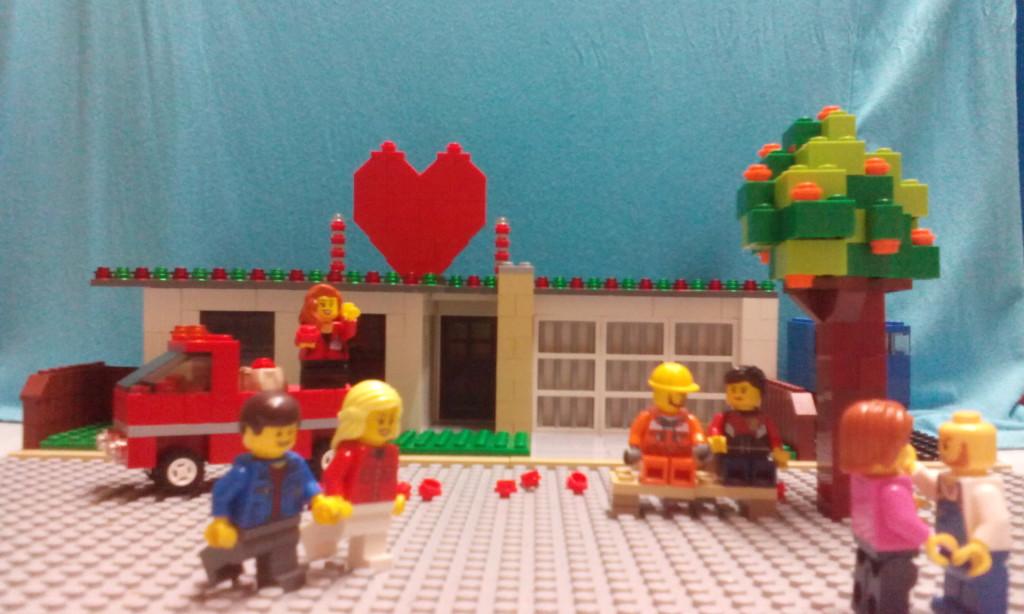 LEGO Valentines Day 2016 - Lorraine G
