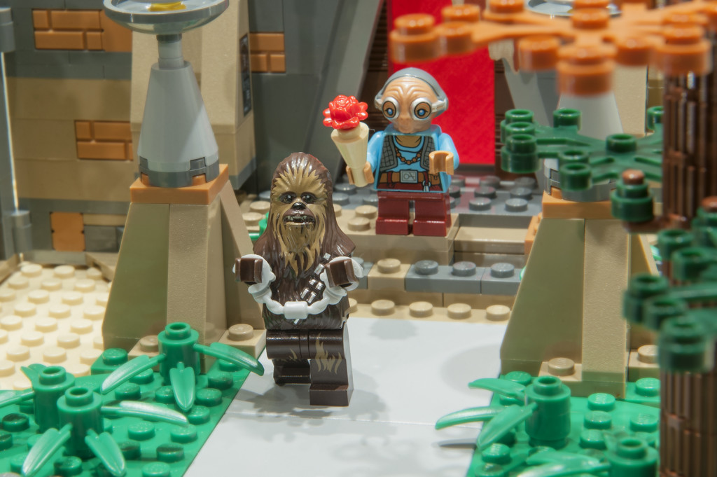 LEGO Valentines Day 2016 - Mark G Chewie and Maz