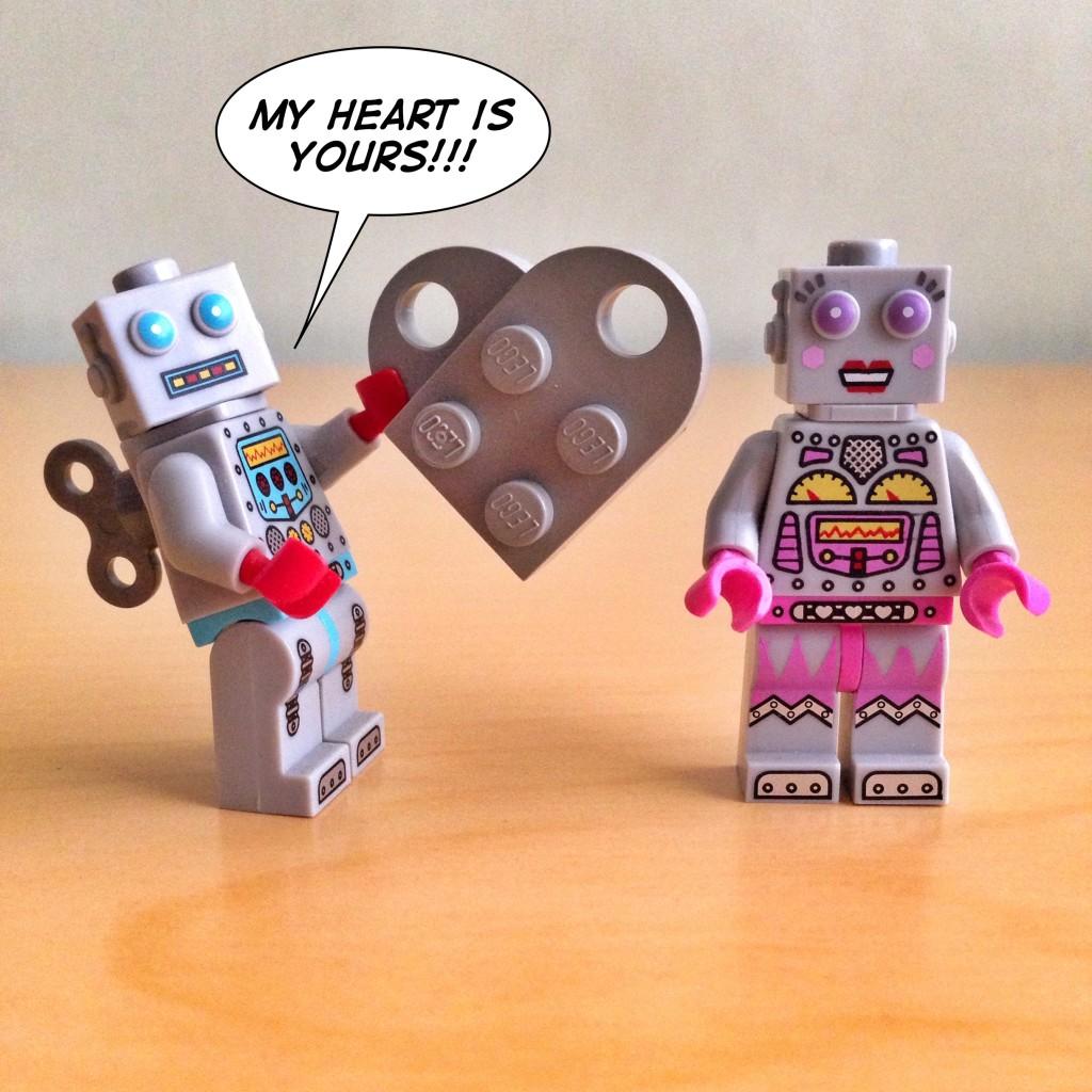 LEGO Valentines Day 2016 - Oscar R