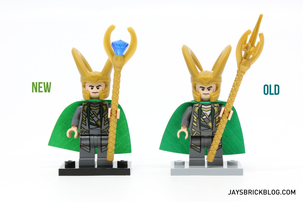 LEGO Loki Minifigure Comparison