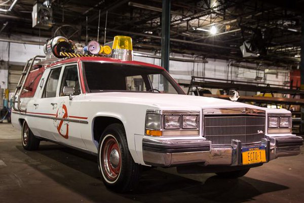 New Ghstbusters Ecto-1 2016