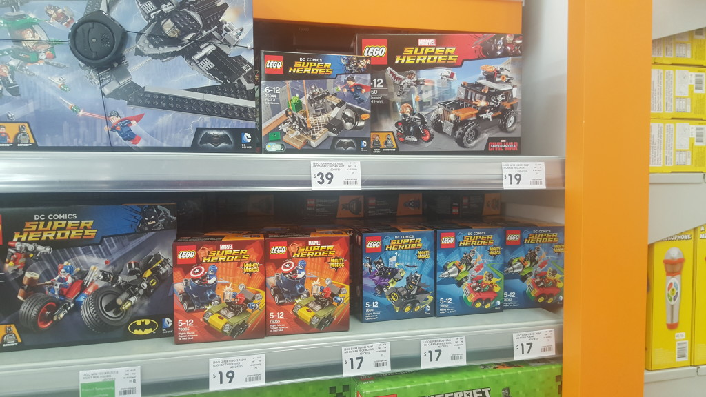 New March 2016 LEGO sets starting to show up in Australia