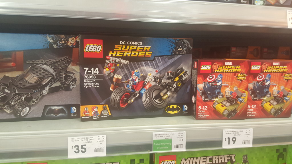 New LEGO Mighty Micros - Kmart
