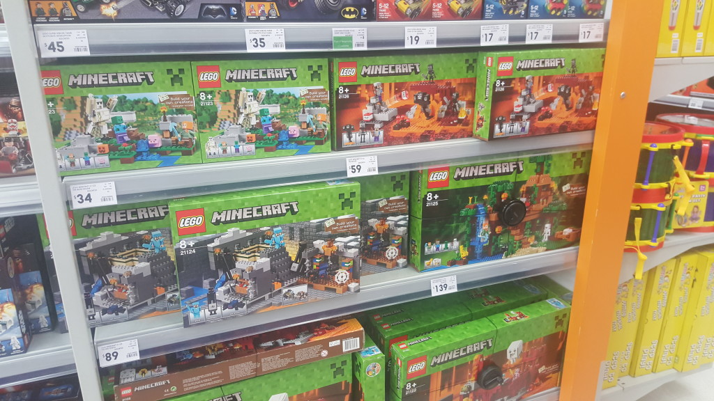 New LEGO Minecraft - Kmart