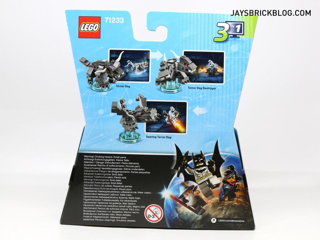 71233 LEGO Dimensions Stay Puft - Box Back