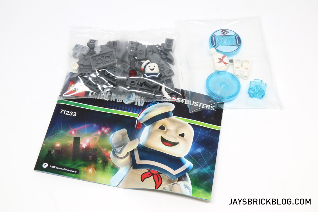 71233 LEGO Dimensions Stay Puft - Contents