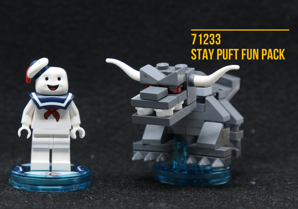 Review: 71233 LEGO Dimensions Stay Puft Fun Pack