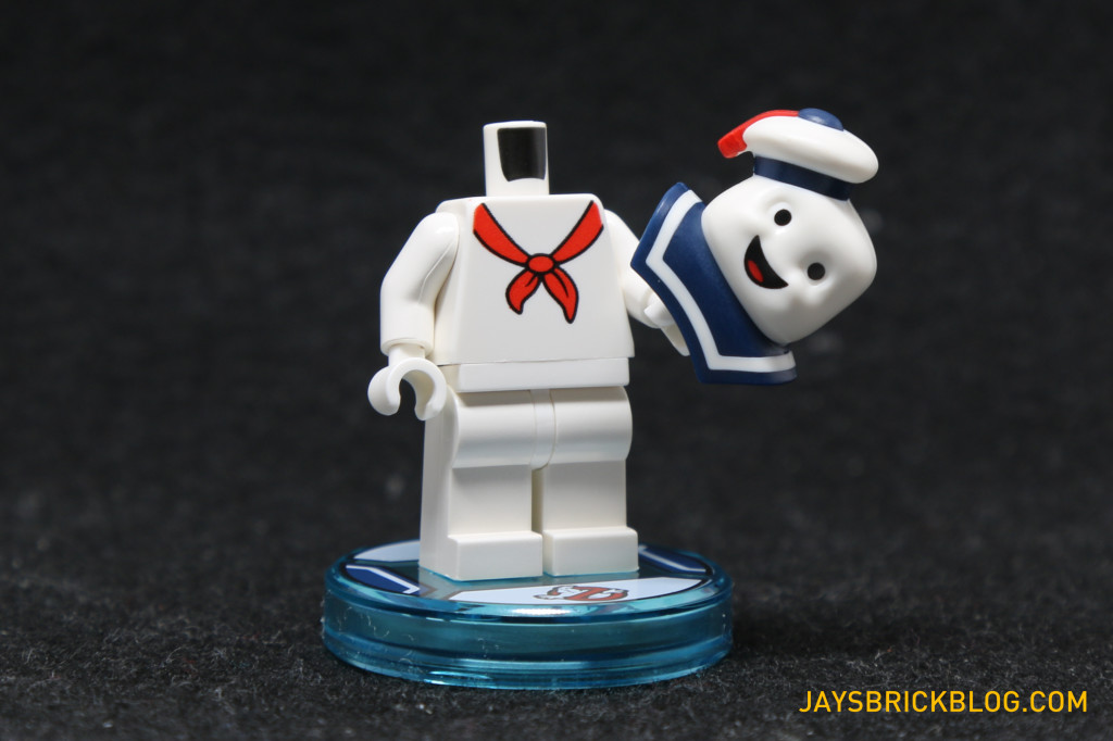 71233 LEGO Dimensions Stay Puft Marshmallow Man Head