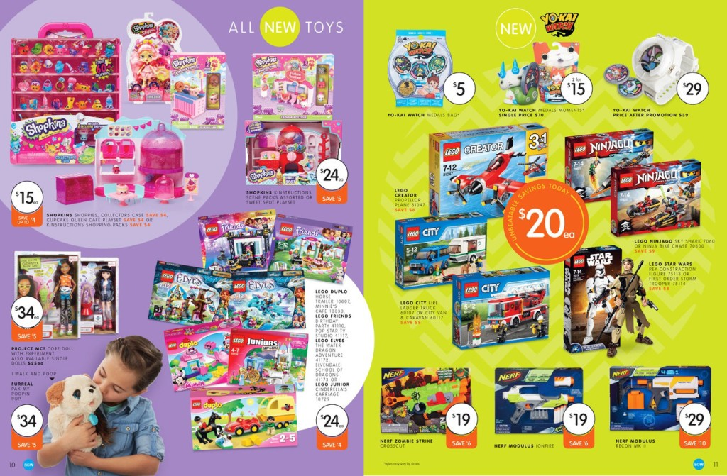 Big W LEGO Sale March 2016