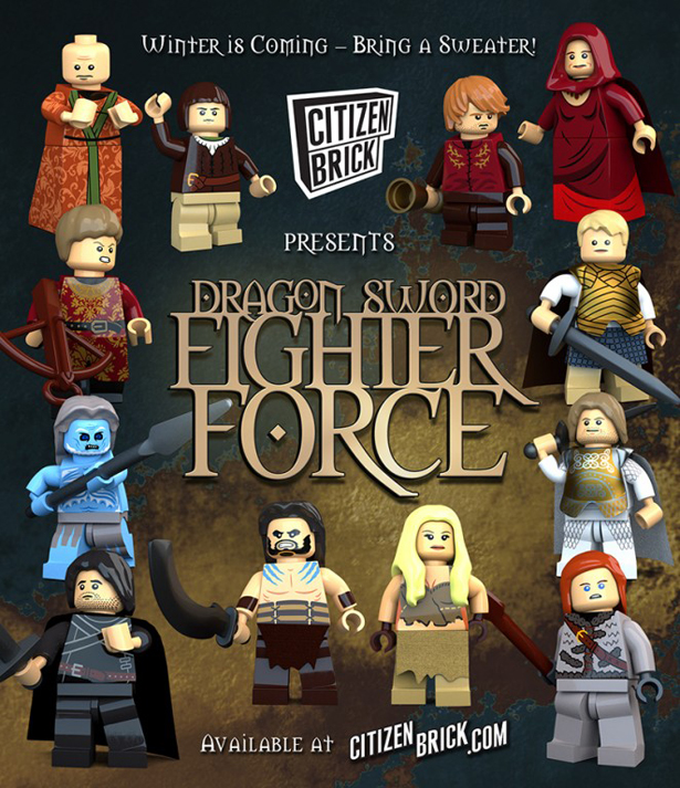Citizen Brick - Game of Thrones
