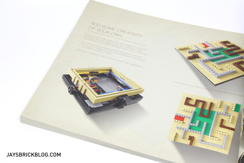 LEGO 21305 Ideas Maze - Alternative Maze Designs