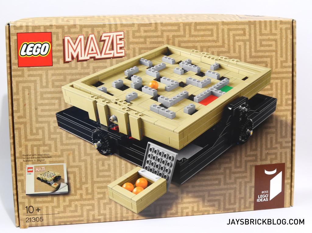 LEGO 21305 Ideas Maze - Box