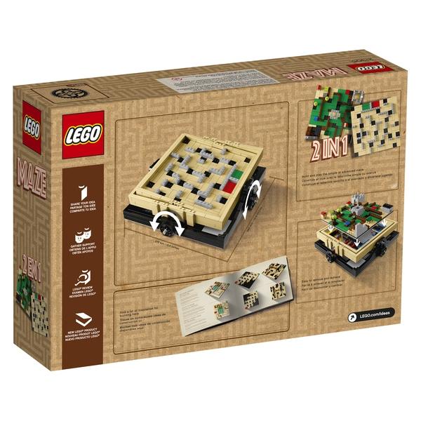 LEGO 21305 Ideas Maze Box Details