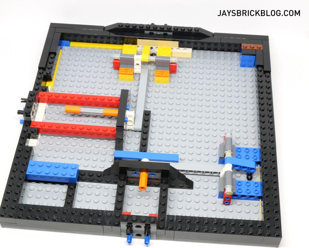 LEGO 21305 Ideas Maze - Build Progress Base