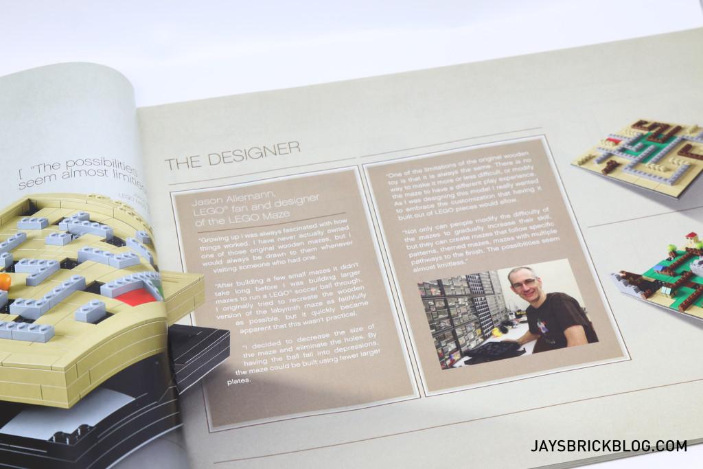 LEGO 21305 Ideas Maze - Designer Profile