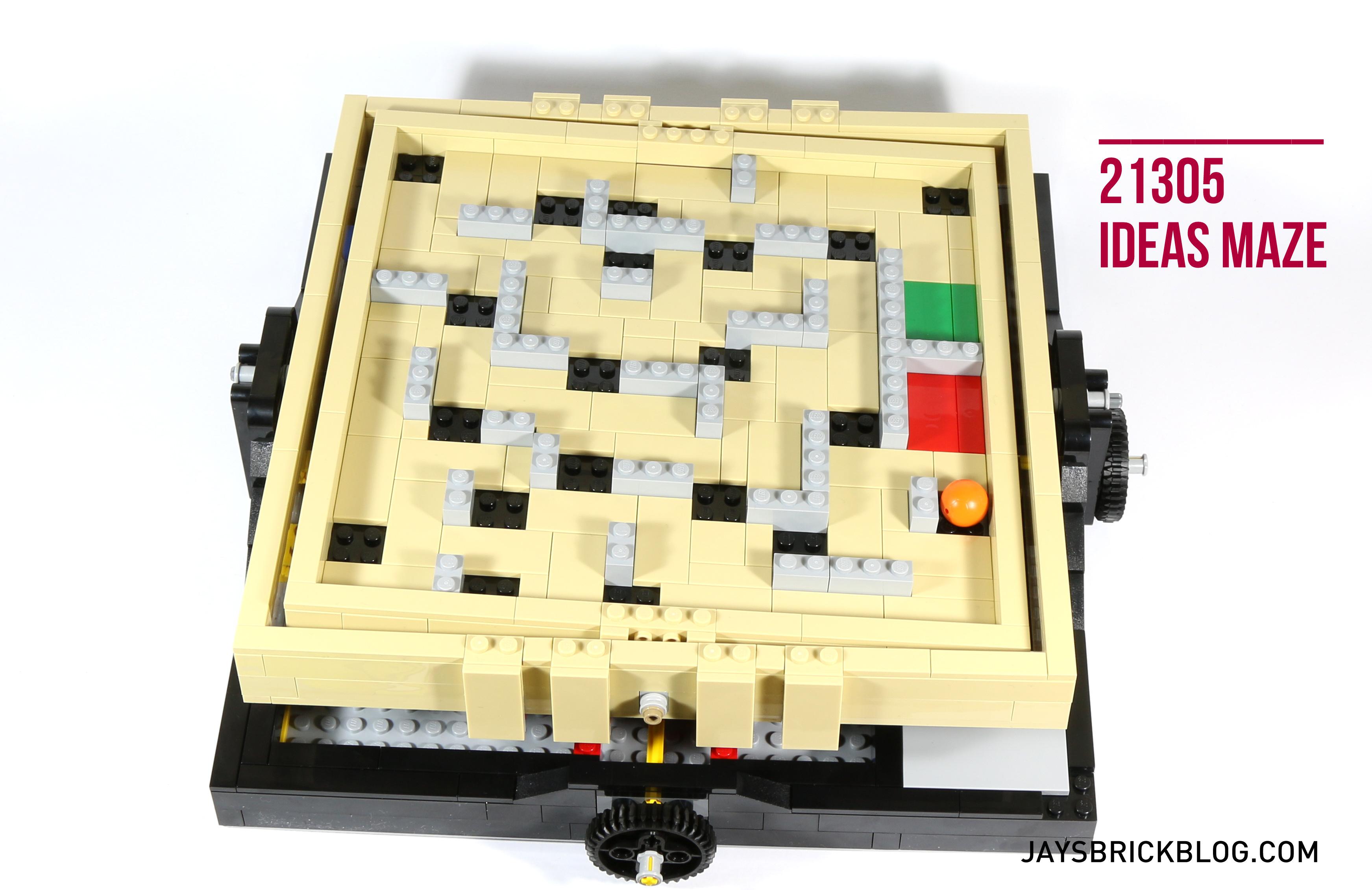 how to make a lego ball maze