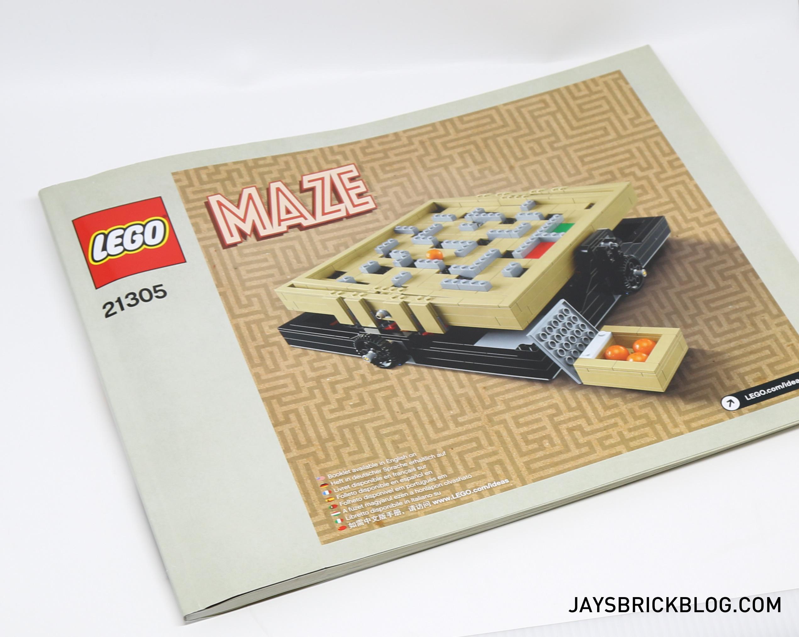 Review Lego 21305 Ideas Maze