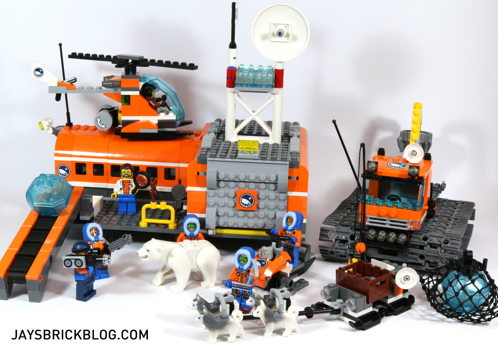 Review: LEGO 60036 Arctic Base Camp