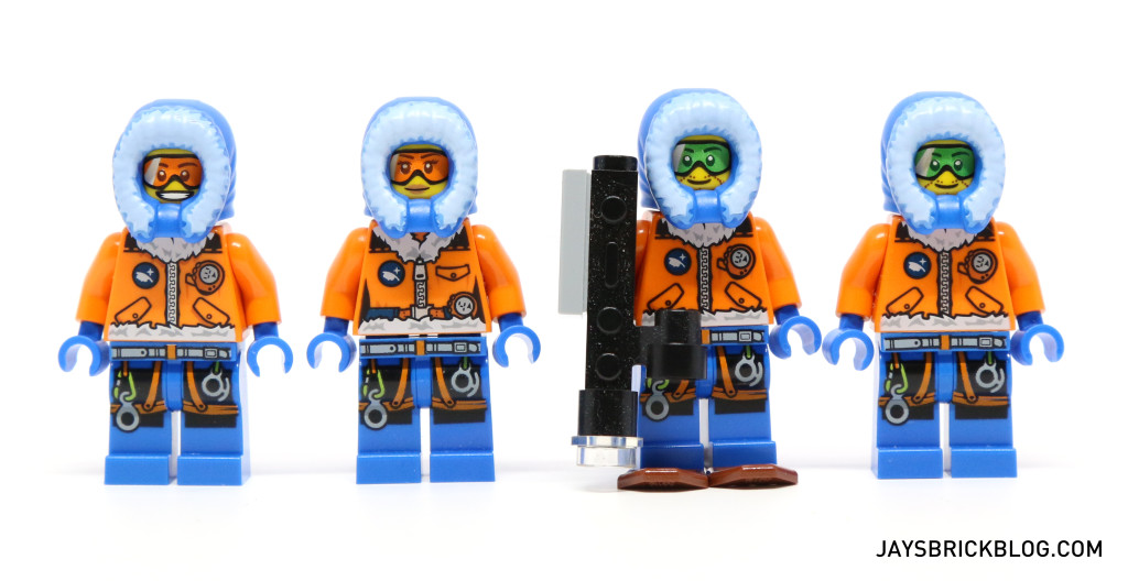 LEGO 60036 Arctic Base Camp - Arctic Explorers