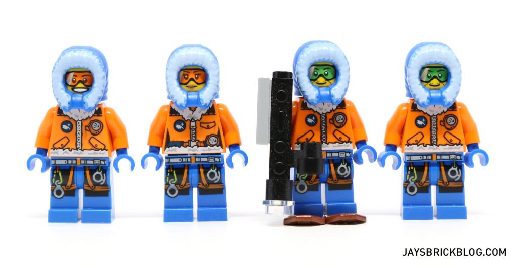 LEGO 60036 Arctic Base Camp - Arctic Explorers