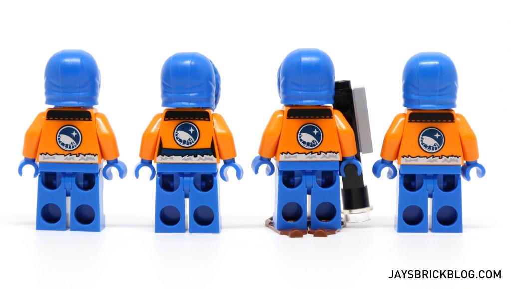 LEGO 60036 Arctic Base Camp - Arctic Explorers Back Printing