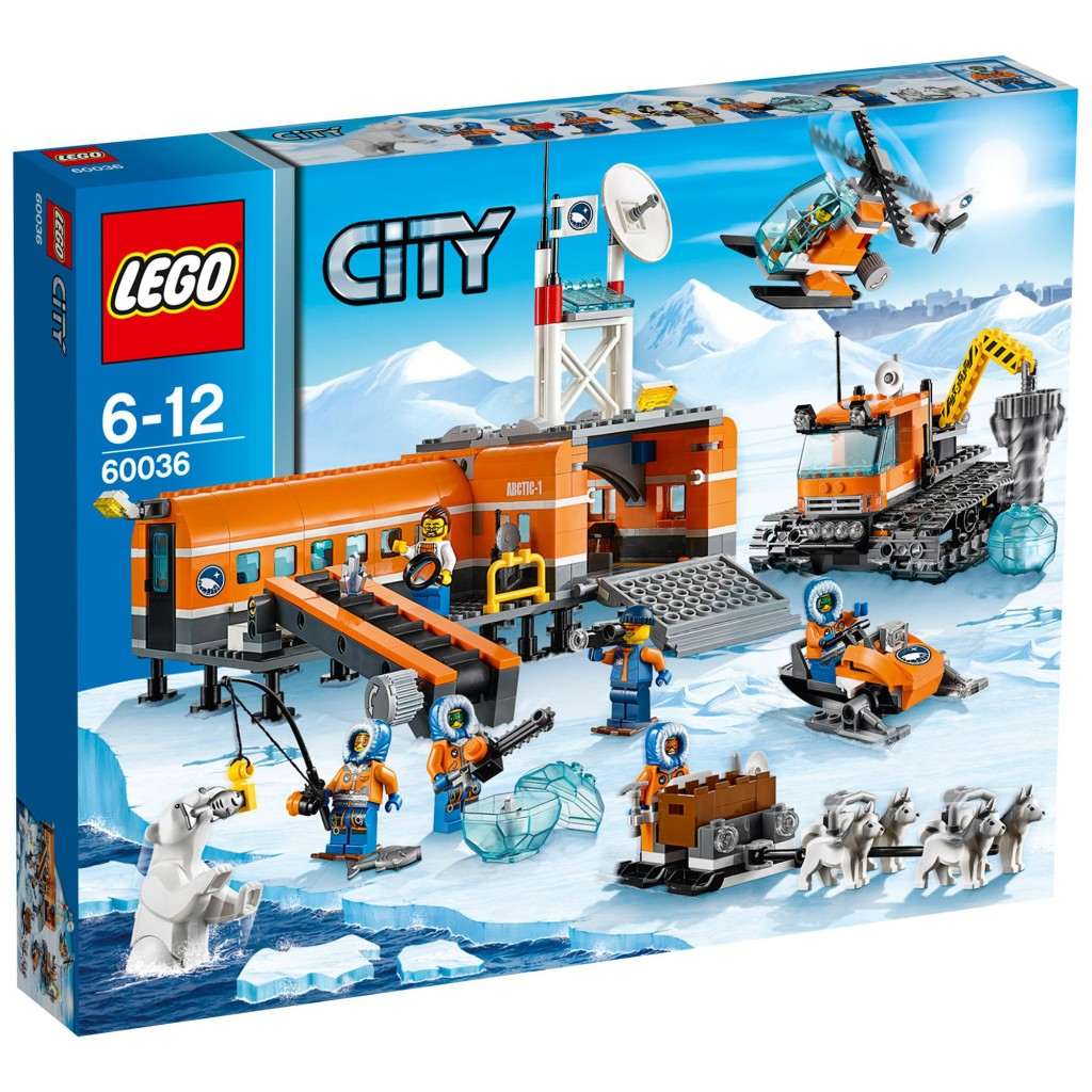 LEGO 60036 Arctic Base Camp - Box