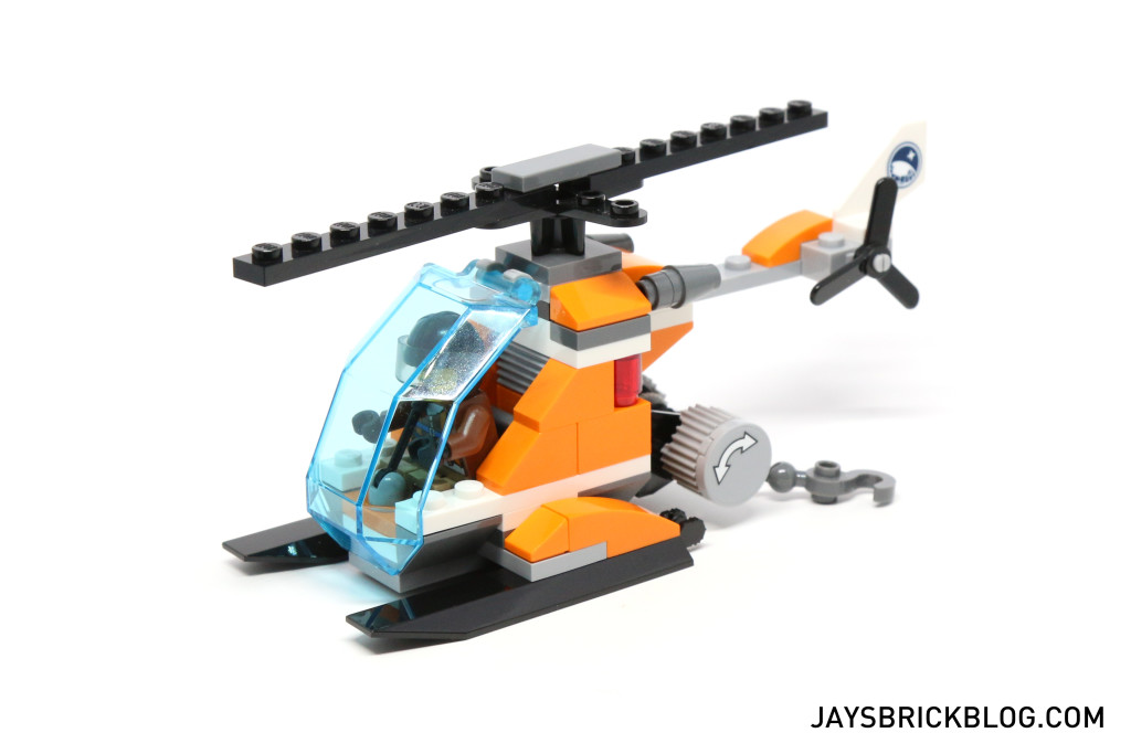 LEGO 60036 Arctic Base Camp - Helicopter