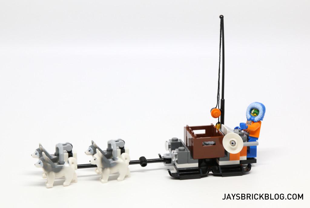 LEGO 60036 Arctic Base Camp - Husky Sleigh