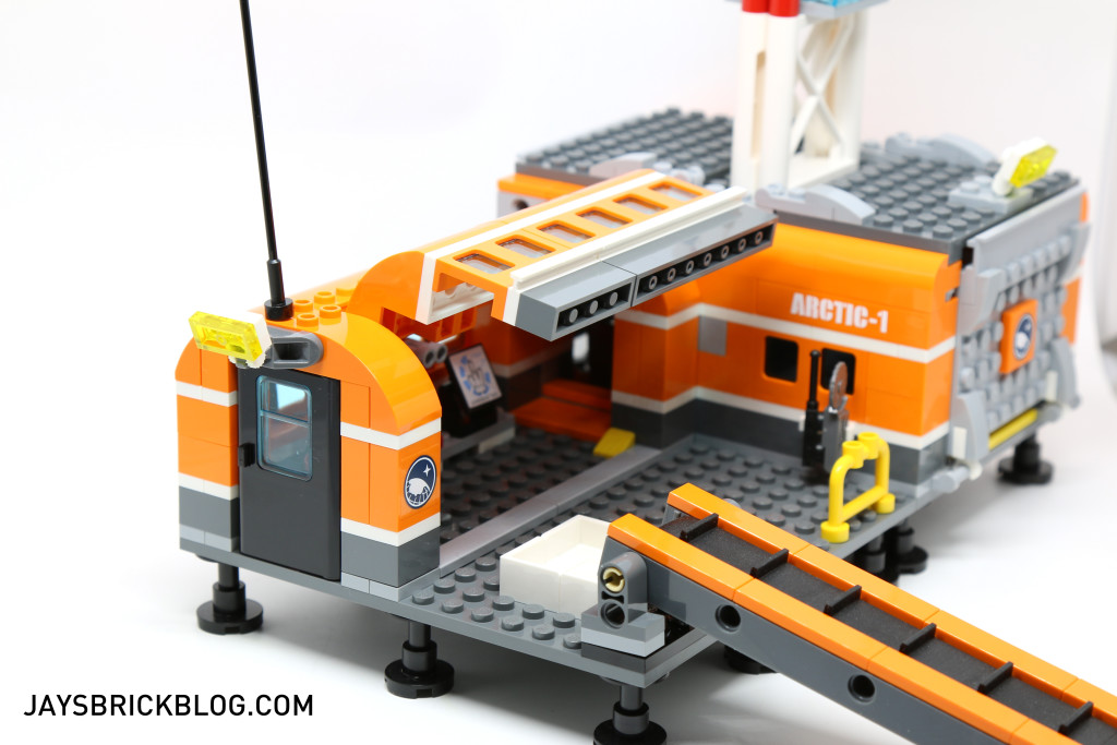 LEGO 60036 Arctic Base Camp - Opening Wall