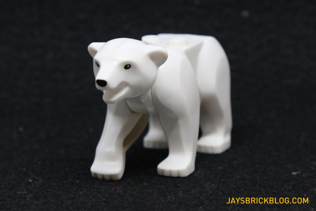 LEGO 60036 Arctic Base Camp - Polar Bear