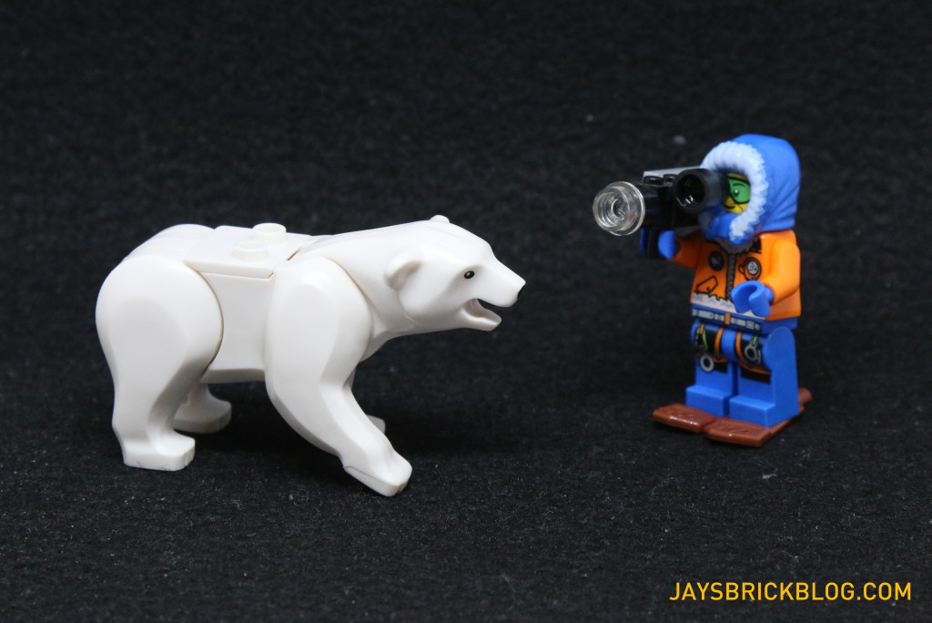 LEGO 60036 Arctic Base Camp - Polar Bear Filming