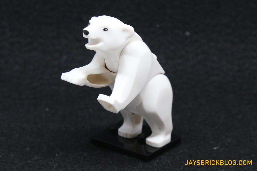 LEGO 60036 Arctic Base Camp - Polar Bear Rearing Legs