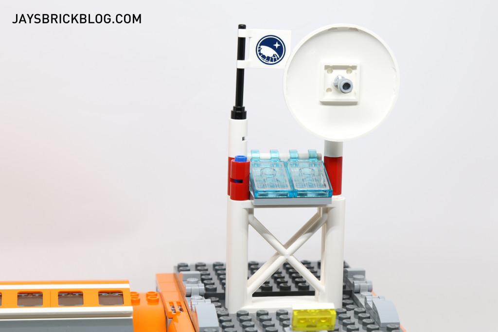 LEGO 60036 Arctic Base Camp - Radar