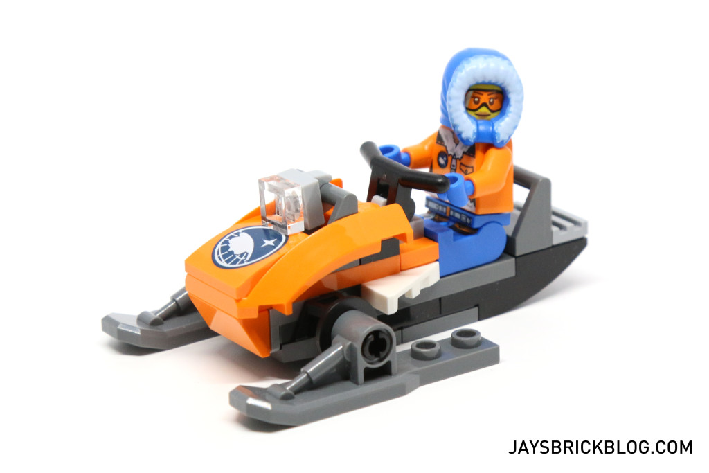 LEGO 60036 Arctic Base Camp - Snow Scooter