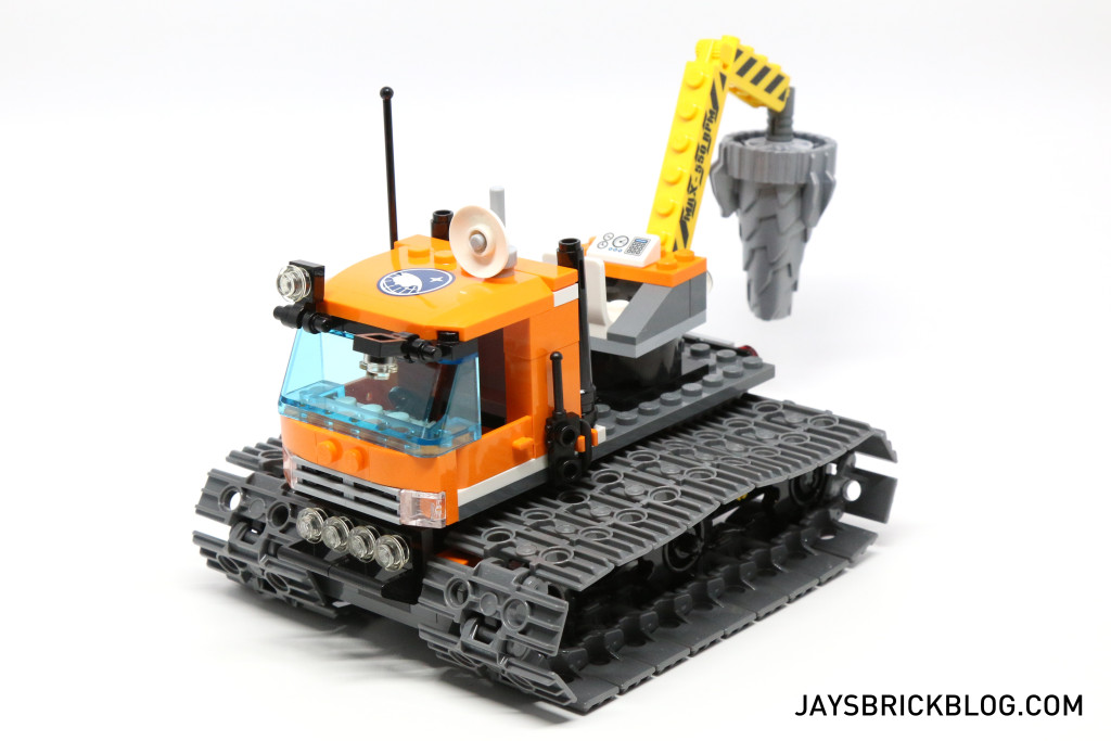 LEGO 60036 Arctic Base Camp - Tracked Exploration Vehicle