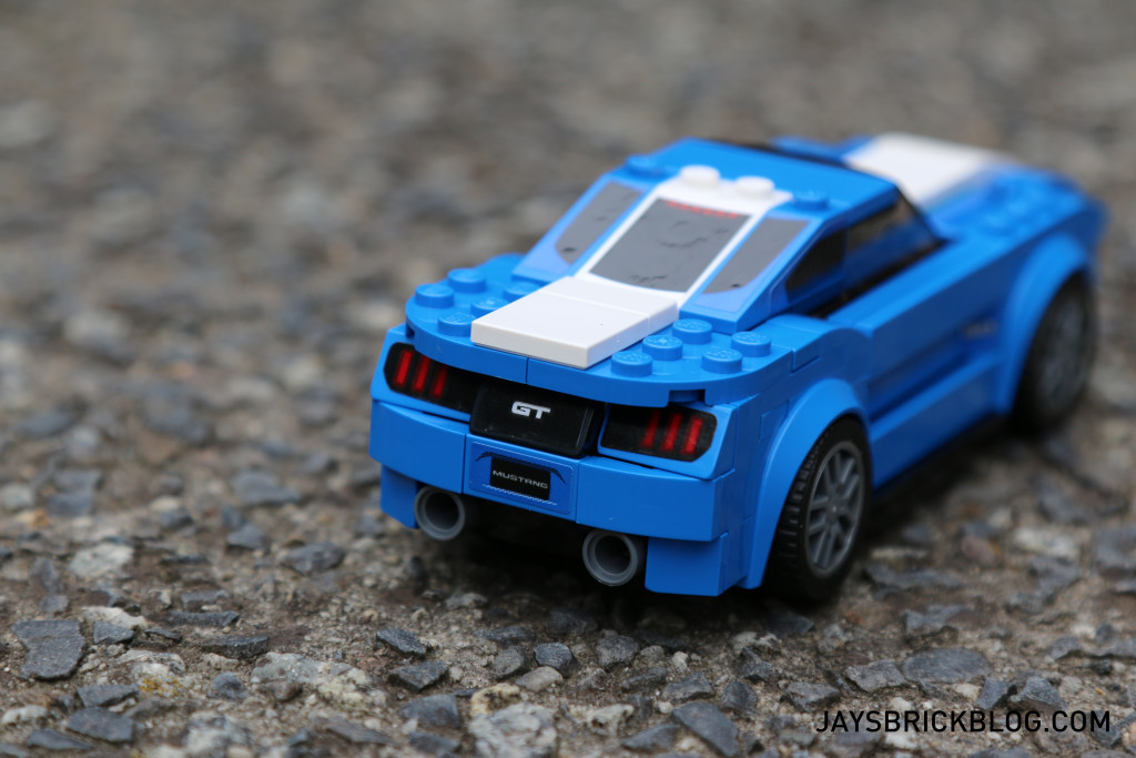 LEGO 75871 Ford Mustang GT - Back View