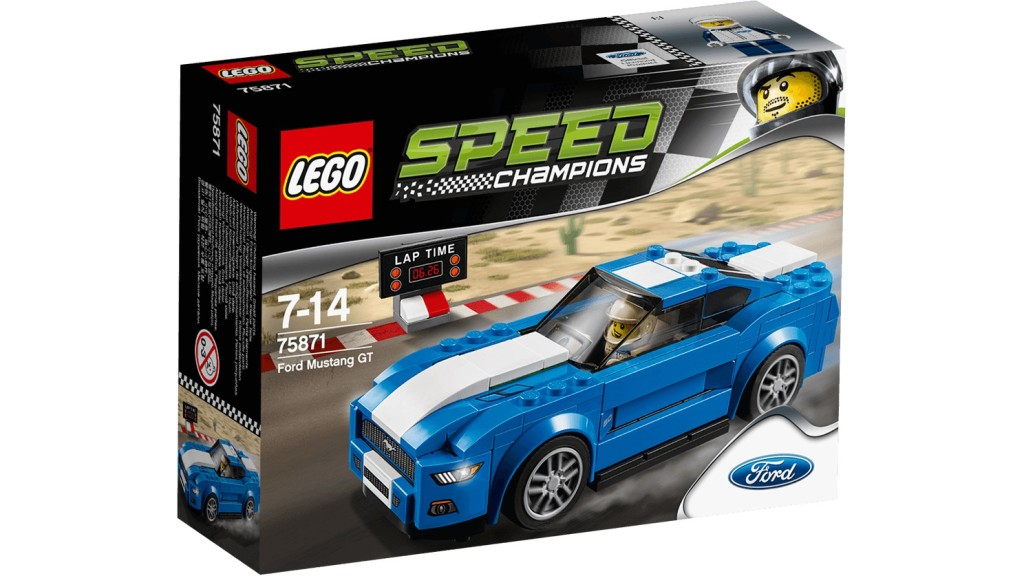 LEGO 75871 Ford Mustang GT - Box