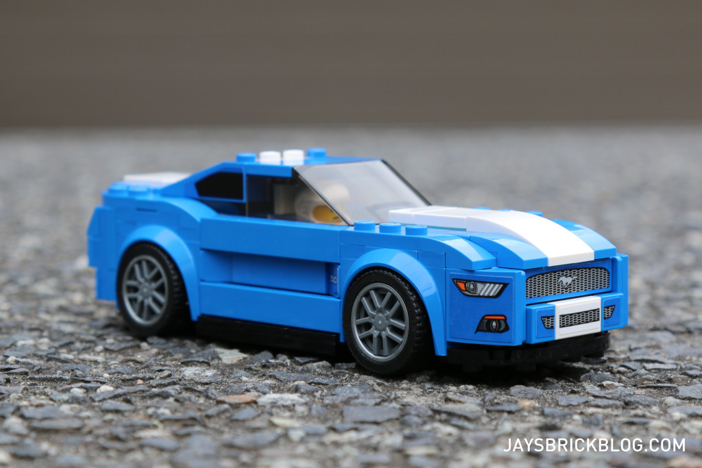 LEGO 75871 Ford Mustang GT - Front View
