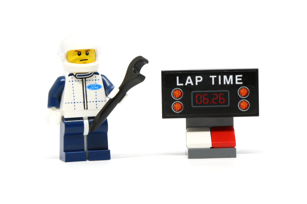 LEGO 75871 Ford Mustang GT - Lap Time Display