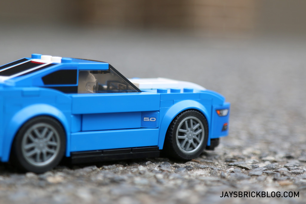 LEGO 75871 Ford Mustang GT - Rims and Side Sticker