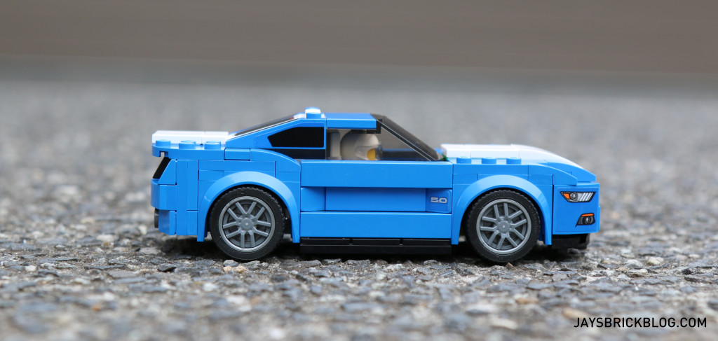 LEGO 75871 Ford Mustang GT - Side View