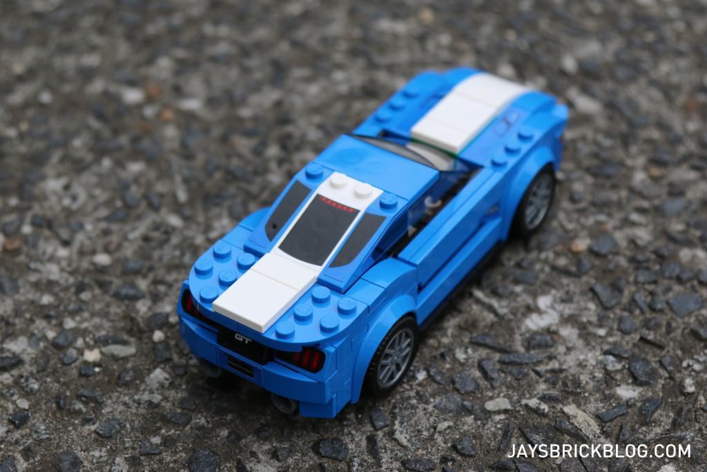 LEGO 75871 Ford Mustang GT - Top View